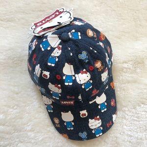 Hello Kitty x Levi's Hat SnapBack - Brand NWT